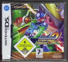 Nintendo DS Megaman Starforce 2: Zerker X Ninja (2008), New & Factory Sealed