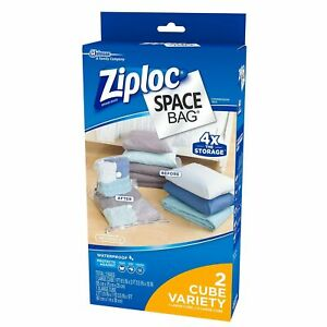 Space Bag 2 Piece Cube Combo Vac Bags 1 Large And 1