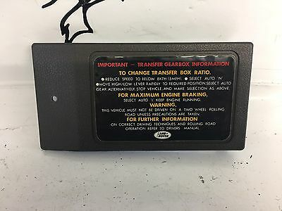 range rover classic collection on ebay rh ebay com 1995 range rover classic fuse box range rover classic fuse box location