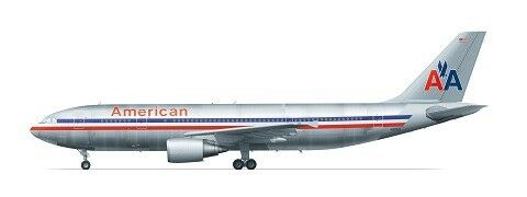 F -rsin 1  144 flygbusss A300 -600 American Airlines