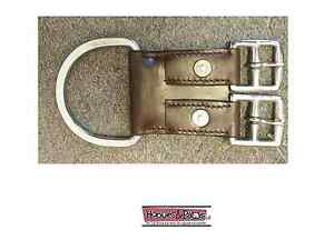 TOUGH-1-Royal-King-Leather-2-Buckle-Western-Tack-Horse-CINCH-GIRTH-CONVERTER