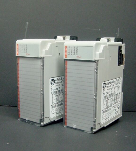 Allen Bradley 1769-OW16 1769-0W16 MicroLogix Compact I/O Output Module Relay PLC