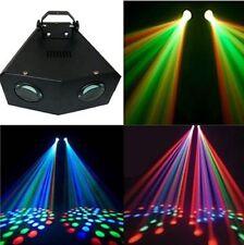 Daul LED Luz De Discoteca DJ con Active Giratorio!