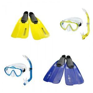 Aqualung/aquatics Pacifica Sharky Kinderset Schnorchelset Für Kinder Neueste Technik Tauchen Taucherbrillen
