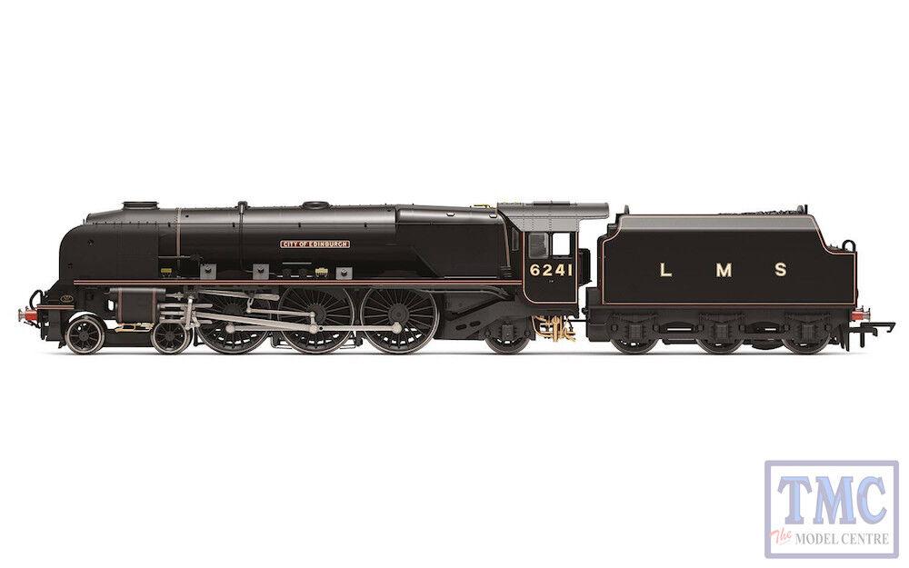 R3681 Hornby OO LMS, Princess Coronation Class 6241 'City of Edinburgh' - Era 3