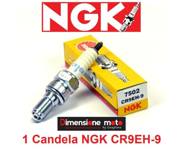 7502 - 1 Candela NGK CR9EH-9 per Honda CRF 150 R dal 2007 al 2017