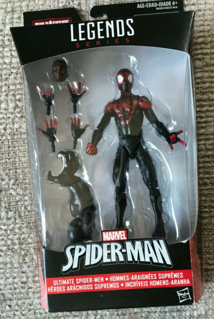 MARVEL LEGENDS ULTIMATE SPIDER-MAN MILES MORALES WAVE 6 ...