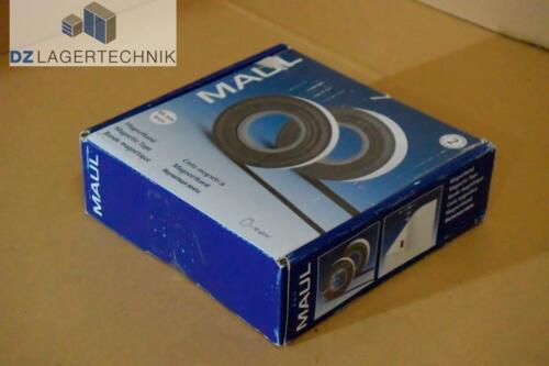 Maul Magnetband weiß 45mm x 10m Magnetklebeband Magnetfolie Regalbeschriftung