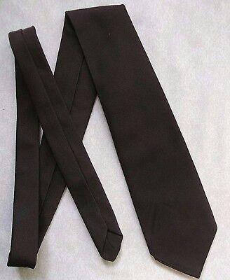 Ragionevole Vintage Tootal Tie Cravatta Per Ragazzi Retrò Marrone Scuro 1980s Mini Mod Età 8-14-mostra Il Titolo Originale