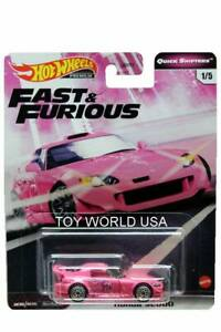 Honda s2000 presque /& Furious 1//8 1:64 Hot Wheels dwf70 dwf68