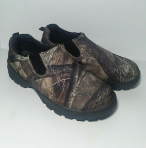 RedHead XTR Camo Moc Slip-On Shoes Size