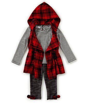 Toddler//Girls Bonnie Jean Assorted Top /&Leggings 2PC Sets Sz 2T 3T 4T 4 5 6 /& 6X