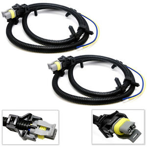 Details about 2X ABS Wheel Sd Sensor Wire Harness For Chevrolet Impala on