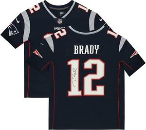 Tom Brady Patriots Signed Navy Pro-Line Jersey - Fanatics Authentic