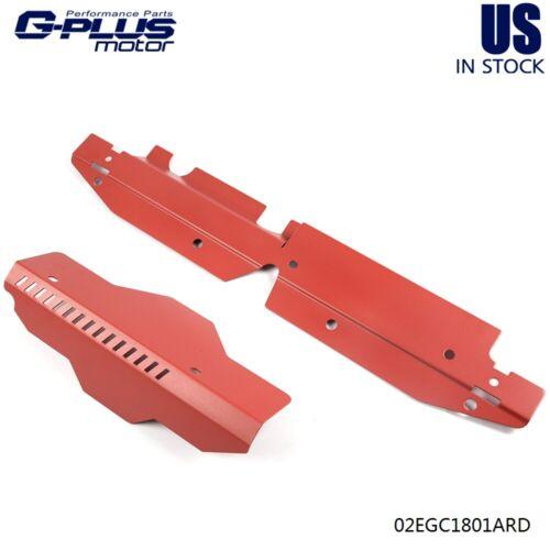 Gplus For 2008-2012 SUBARU WRX /& STi Radiator Shroud /& Pulley Belt Cover Combo