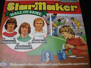 Star Maker Footballer's - Idéal des années 70 inutilisé!   Shaker Moore Keegan
