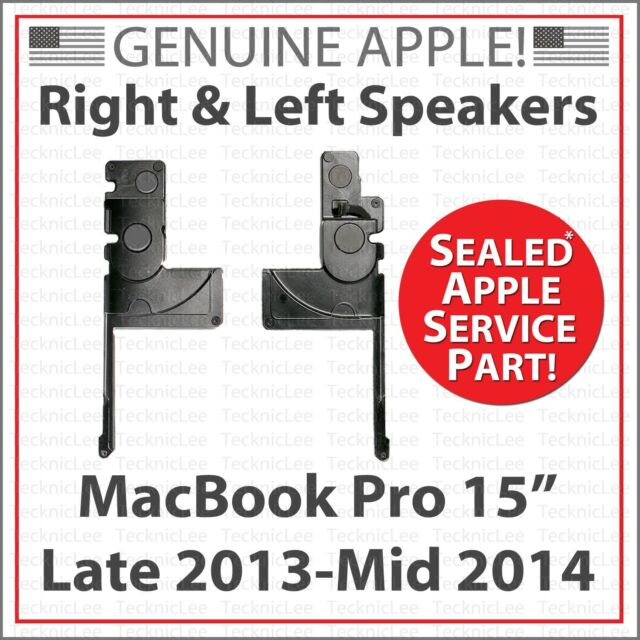 """NEW Apple 923-0660 Left & Right Speakers for MacBook Pro 15"""" Late 2013, Mid 2014"""
