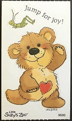 Vintage Stickers Adorable Mint Condition!! Suzy's Zoo