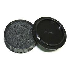 Camera Body + Rear Lens Cap for M42 42mm Pentax, Praktica, Fujica and Zenit New*