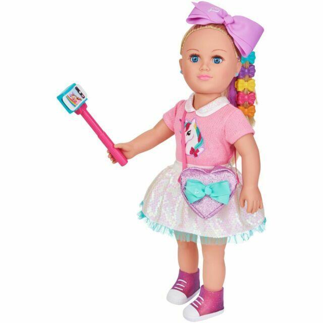 "My Life As JoJo Siwa 18/"" Doll  Unicorn Shirt Posable Soft Torso EXCLUSIVE 2018"