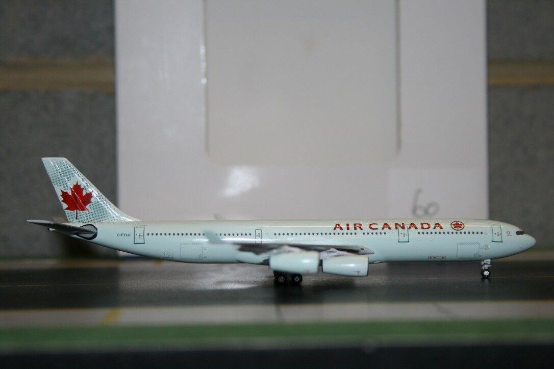 Aeroclassics 1:400 Air Canada Airbus A340-300 C-FYLU  ACCFYLU  Die-Cast Model
