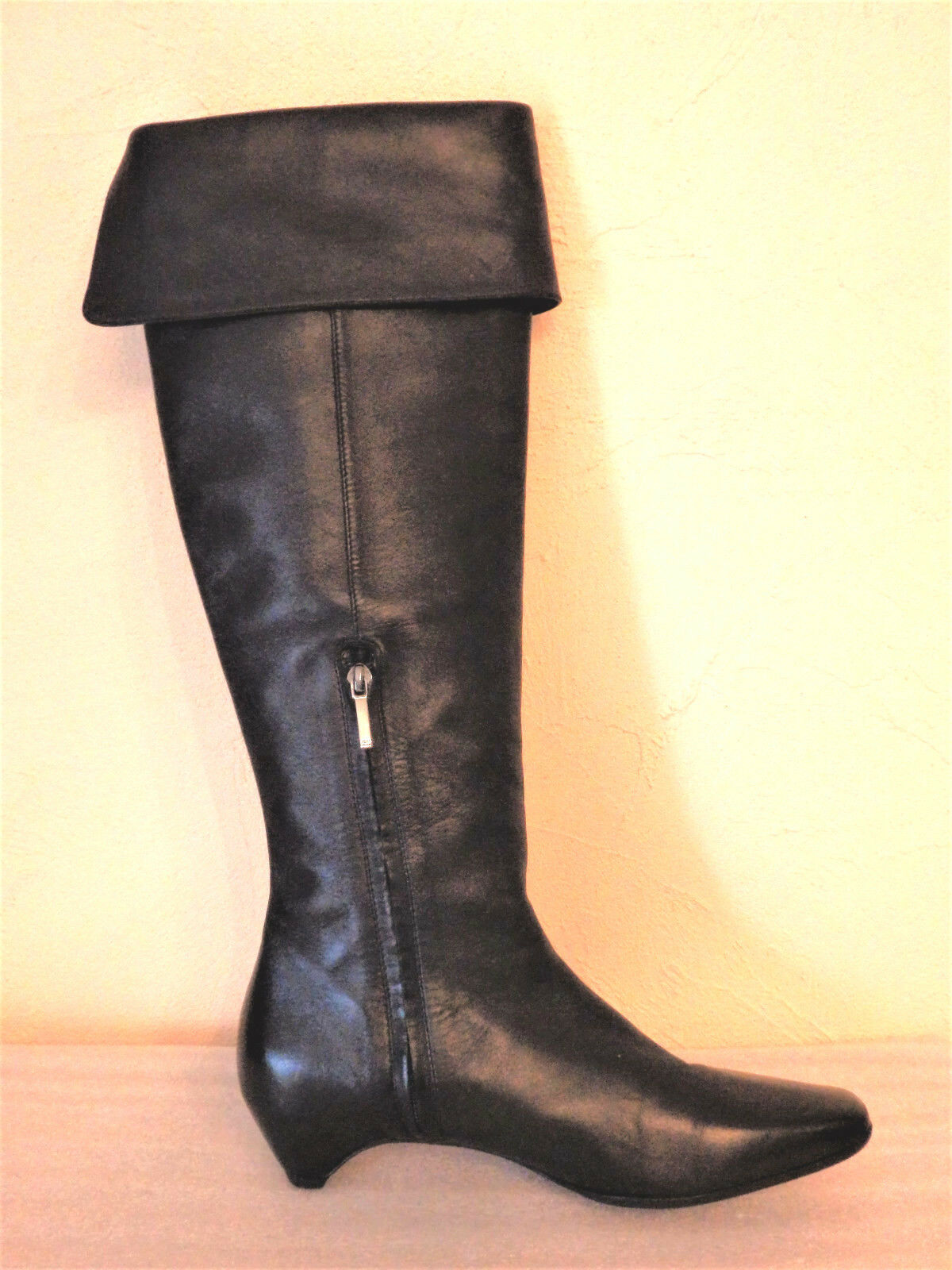 CHRISTIAN DIOR - BOOTS - LEGGINGS - - - LEATHER - SIZE 38,5 - GENUINE 2e1b21