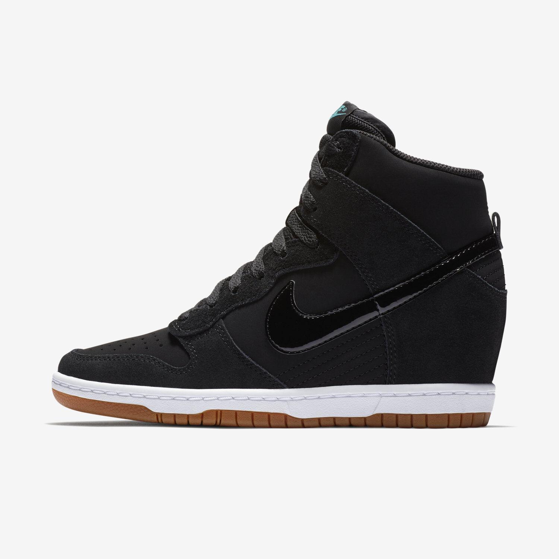 apilar comerciante escaramuza  nike wedge sneakers black > Clearance shop