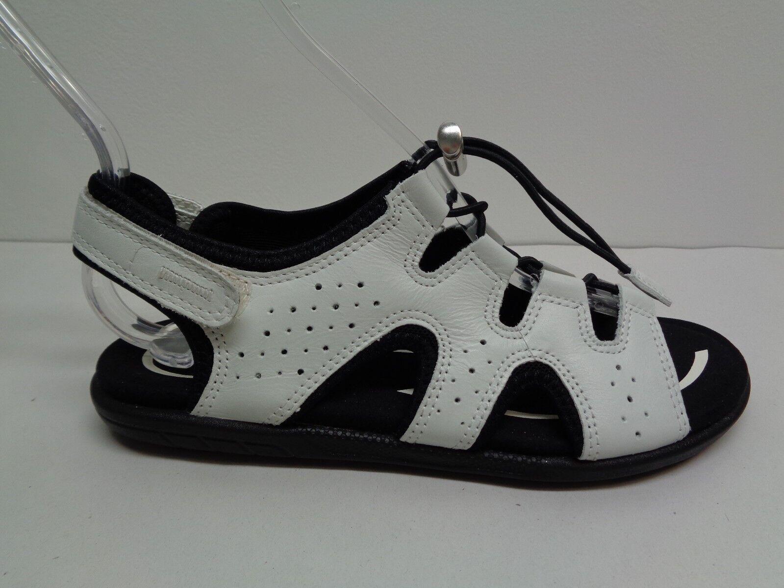 Ecco tamaño 6 a 6.5 EUR EUR EUR 37 azulma alternar Sandalias De Cuero blancoo Nuevo Zapatos para mujer  bienvenido a orden