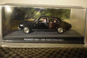 JAMES BOND CARS COLLECTION 083 PEUGEOT 504 slightly cracked case - Fleetwood, Lancashire, United Kingdom - JAMES BOND CARS COLLECTION 083 PEUGEOT 504 slightly cracked case - Fleetwood, Lancashire, United Kingdom