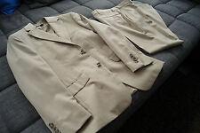 ★★ Esprit Herren Anzug in Beige 44 Sakko Hose Boston Wolle Collection Toronto ★★