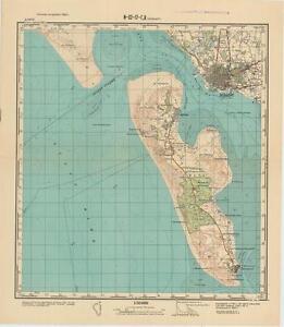 Russian Soviet Military Topographic Maps - ESBJERG (Denmark),1:50 ...