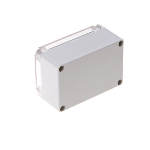 100x68x50mm Waterproof Cover Clear Electronic Project Box Enclosure Case STUK