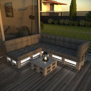 Paletten Sofa led streifen für palettenmöbel palettensofa palette sofa
