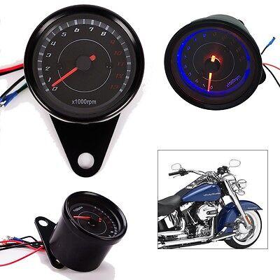 LED Backlight 13000 RPM Tachometer Scooter Tacho Gauge Motorcycle  Speedometer | eBay