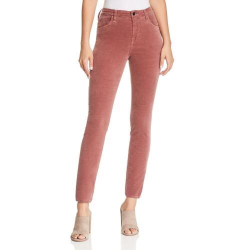 J Brand Womens Maria Velveteen High Rise Day To Night Skinny Jeans BHFO 7304