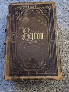 1857 The Poetical Works of Lord Byron Complete in One Volume- Rough Condition