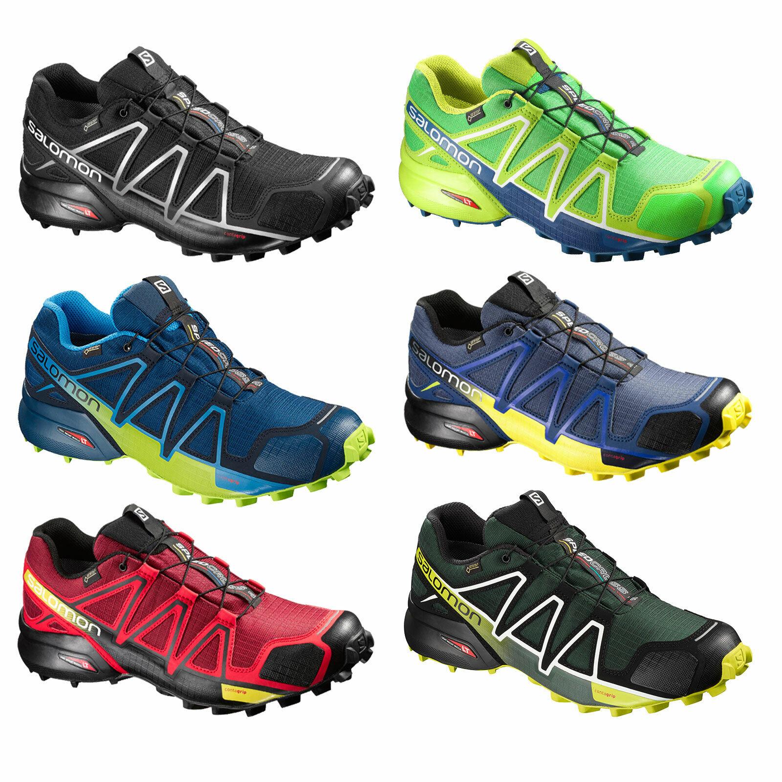 Salomon Speedcross 4 GTX Goretex caballeros-outdoorzapatos zapatillas impermeable nuevo