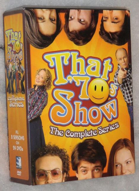 That 70's Show Completo Stagione 1-8 (1,2, 3,4, 5,6, 7,8) DVD Cofanetto Anni '70