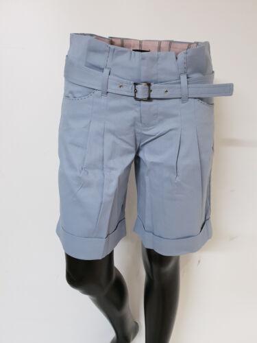 -AP4044T0229 Col.Azzurro Sconto Pants women Art 70/% Short Donna Amy Gee