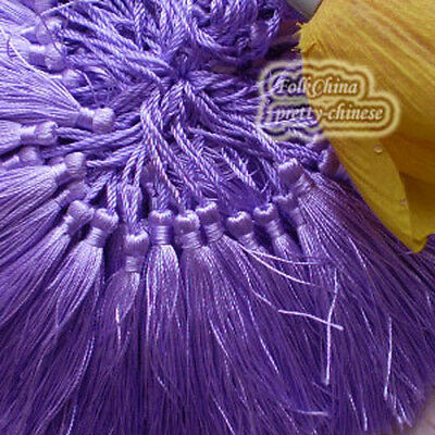 Lilac 12cm Tassel Craft Sewing Curtains Trimming Embellishment T13