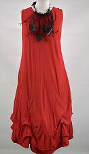 LAGENLOOK DESIGNER 'SHE'  PARACHUTE DRESS  DRESS  SIZE L/XL RED