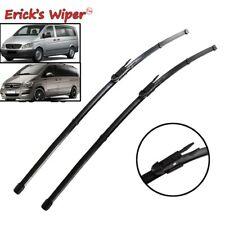 Front Rear Windscreen Wiper Blades Fit For Mercedes-Benz Vito Mixto 110 CDI W639