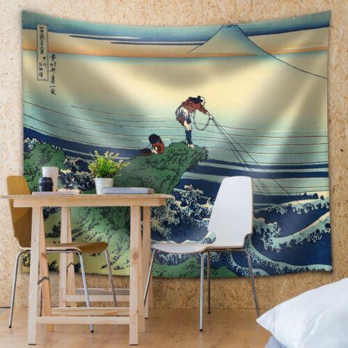 Home Decor 88x104 inches Fabric Tapestry Kajikazawa in Kai Province