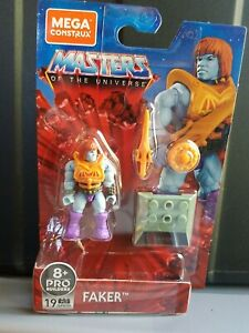 MOTU 2020 MEGA CONSTRUX MASTERS OF THE UNIVERSE Heroes Man-at-Arms  in Stock