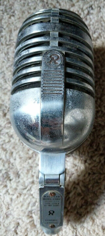 Rauland Borg 1248B dynamisches Mikrofon 1950er Jahre Vintage Selten