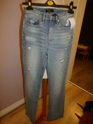 "FleißIg Bnwt Ladies Designer Juicy Couture Black Label Bootcut Jeans Rrp £70.00 Uk 25"" W Buy One Give One"