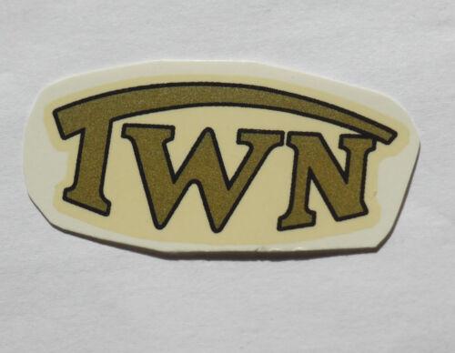 Triumph TWN Schriftzug Abziehbild Wasserabziehbild 62802T 42x19 mm  gold