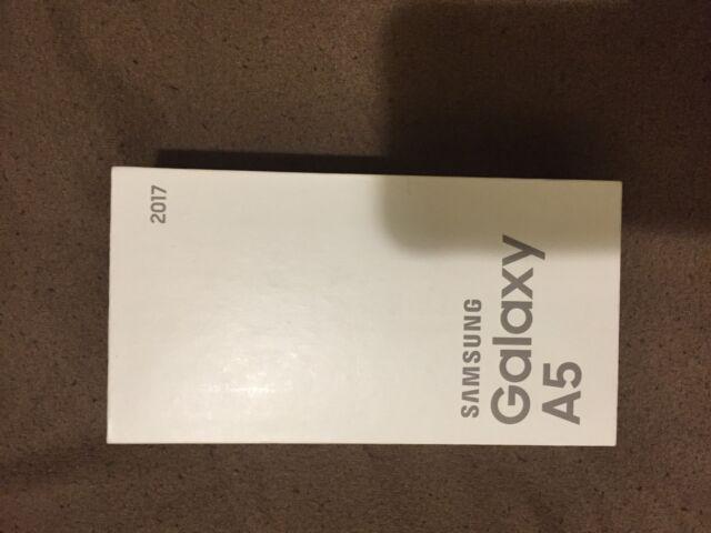 Samsung Galaxy A5 2017, SM-A520W, Brand New in Box, Sealed, Unlocked, Black Sky