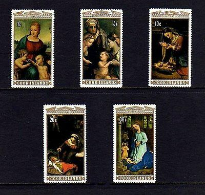 COOK ISLANDS - 1974 - CHRISTMAS - VIRGIN & CHILD - NATIVITY ++ MINT - MNH SET!