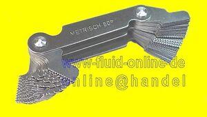 Gewindeschablone-Gewindelehre-0-25-6-0mm-metrisch-4-62-Whitworth-Gewinde-NEU